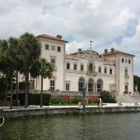 Photo taken at Vizcaya Museum and Gardens by Jennifer S. on 7/28/2013