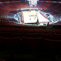 Photo taken at Lloyd Noble Center by Mike on 12/29/2012