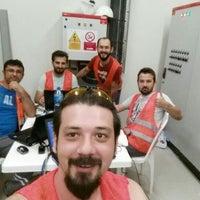 Photo taken at Çalık Enerji - Derweze Şantiyesi by BURAK♈ H. on 7/15/2015