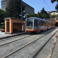 Photo taken at MUNI Metro Stop - Sunset Tunnel East Portal by Frank R. on 4/9/2017