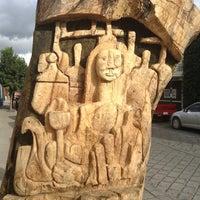 Photo taken at Escultura De Un Ficus by ron m. on 10/7/2013