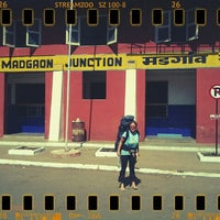 Photo taken at Margao Railway Station by Maria A. on 1/14/2013