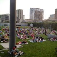 Photo taken at Annette Strauss Artist Square by Brandon C. on 6/15/2014