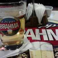 Photo taken at Quiosque Chopp Brahma by Fabiano A. on 3/3/2013