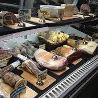 Photo taken at Norcino Salumeria at The Market by eeena d. on 2/13/2013