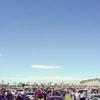 Photo taken at Coachella Main Entrance Line by eeena d. on 4/11/2013