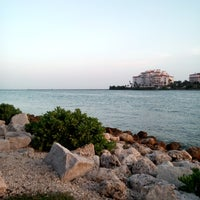 Photo taken at South Pointe Park by eeena d. on 9/14/2013