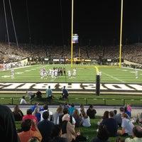 Photo taken at Vanderbilt Stadium - Dudley Field by T-Bone C. on 10/14/2012