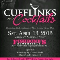 Photo taken at CUFFLINKS & COCKTAILS by Howard P W. on 4/9/2013