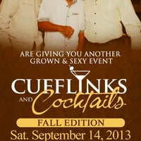 Photo taken at CUFFLINKS & COCKTAILS by Howard P W. on 8/25/2013