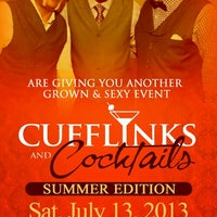 Photo taken at CUFFLINKS & COCKTAILS by Howard P W. on 7/5/2013