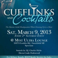 Photo taken at CUFFLINKS & COCKTAILS by Howard P W. on 2/24/2013