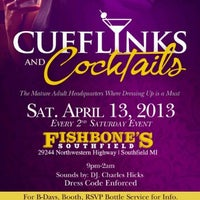 Photo taken at CUFFLINKS & COCKTAILS by Howard P W. on 4/6/2013