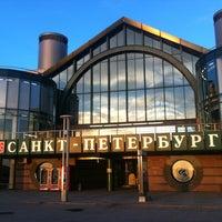Photo taken at Ladozhsky Railway Station by Ruslan S. on 5/28/2013