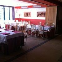 Photo taken at Hotel Villa de Laguardia by Rafael on 10/13/2012