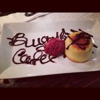 Photo taken at Cafe Bugatti by Nija Mehanovic ADOVIC on 12/6/2012