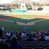 Photo taken at Lake Elsinore Diamond by Jaime M. on 7/29/2013
