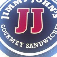 Photo taken at Jimmy John's by Omar V. on 4/19/2013