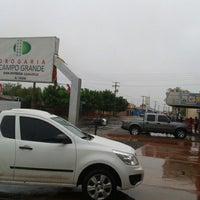 Photo taken at Drogaria Campo Grande by Thiago F. on 9/21/2012
