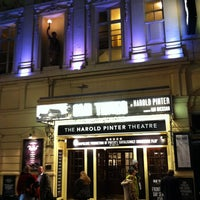 Photo taken at Harold Pinter Theatre by Rob D. on 2/16/2013