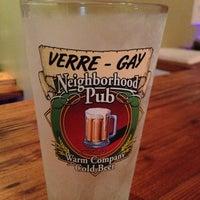 Photo taken at Verre-Gay Neighborhood Pub by Kelly M. on 12/28/2012