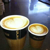 Photo taken at Quikshots Coffee by Nathan O. on 10/20/2012
