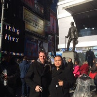Photo taken at Times Square Alliance by DJ R. on 1/30/2014