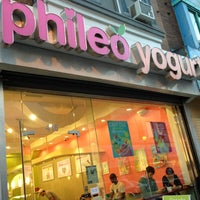 Photo taken at Phileo Yogurt by DJ R. on 10/6/2012