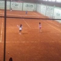 Photo taken at Academia de tênis Vitor Caiafas by Aletheia M. on 7/22/2013
