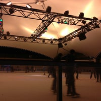Photo taken at Crown Center Ice Terrace by Juan R. on 1/27/2013
