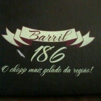 Photo taken at Barril 186 by Érica .. on 2/4/2013