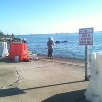 Photo taken at Seawolf Park by Michael H. on 11/2/2012