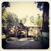 Photo taken at Ex Convento del Desierto de los Leones by Jorge M. on 10/27/2012