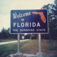 Photo taken at Alabama / Florida State Line by Luis R. on 7/12/2013