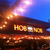 Photo taken at HOBNOB by Paula M. on 5/31/2013