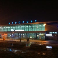 Photo taken at Omsk Central International Airport (OMS) by Dennis P. on 3/16/2013