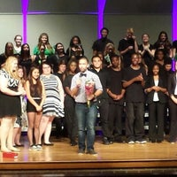Photo taken at Woodbridge Senior High School -Auditorium by IndhaRintintin on 6/8/2014