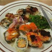 Photo taken at Sushi On by IndhaGeliga on 9/16/2015