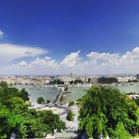 Photo taken at Buda Castle Hill Funicular by Andrea B. on 6/4/2015