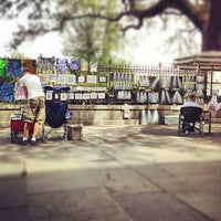 Photo taken at Jackson Square by Mark D. on 9/21/2012