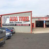 Photo taken at Alba tyres by Chris P. on 8/5/2014