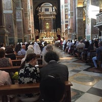 Photo taken at Basilica di Sant'Agostino by Chris P. on 8/28/2015