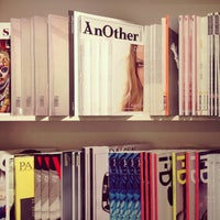 Photo taken at Artazart Design Bookstore by A on 4/29/2013