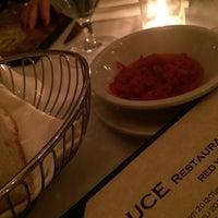 Photo taken at Luce Restaurant & Enoteca by Fernanda F. on 4/26/2014
