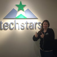 Photo taken at Techstars HQ by Alisha T. on 8/7/2014