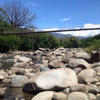 Photo taken at Pozos Termales by Luis S. on 2/16/2015