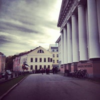 Photo taken at University of Tartu main building by Madis N. on 10/19/2012
