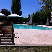 Photo taken at piscina al Bagnoletto by Luana M. on 8/1/2013