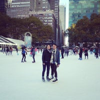 Photo taken at Bryant Park by Antonius W. on 11/3/2013