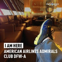 Photo taken at American Airlines Admirals Club DFW-A by Mariano O. on 3/3/2013